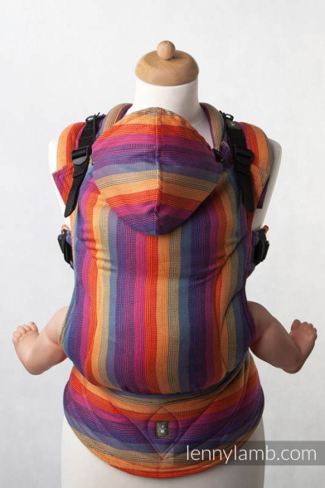 SSC LennyLamb Sunset Rainbow- Wrap conversion bumbac bambus- Baby Size 1