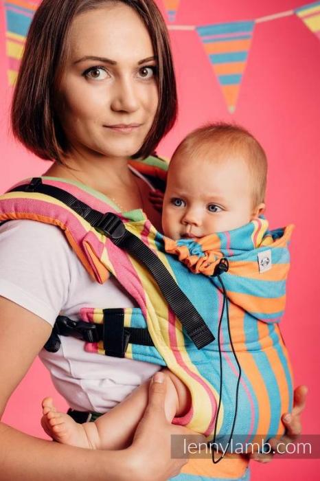 SSC LennyLamb- Wrap Conversion Pinacolada- Baby Size 1