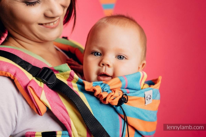 SSC LennyLamb- Wrap Conversion Pinacolada- Baby Size 2